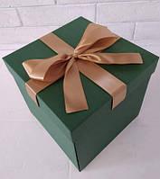 Коробка раскладушка для сладостей и подарков размер М из 3 частей