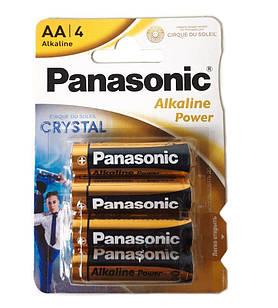 Батарейки Panasonic AA LR6 Alkaline Power, 4 шт