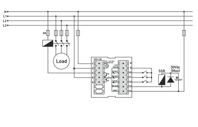 Многофункциональный таймер реле времени щитовой энергонезависимая память
