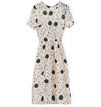 Стильне легке плаття оригінальної забарвлення, фото 3
