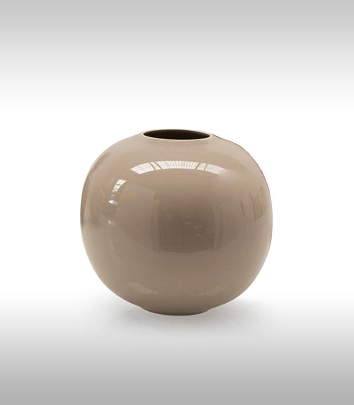 Ваза керамическая Calligaris Vaso - Holi 22x22 см Серо - коричневый H38 (412501)