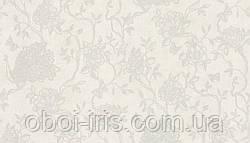418424 обои для стен метровые флизелиновые BN Tailor 2 классические белые павлины цветы