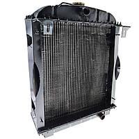 Радіатор водяний 45-1301006 4-х рядний (алюмінієвий з металевими бачками) (JFD)