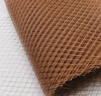 Вуаль шляпная, св. коричневый (50 см)