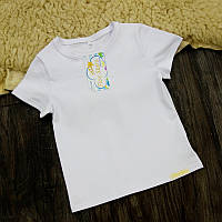 Детская футболка белая Five Stars KD0459-122р