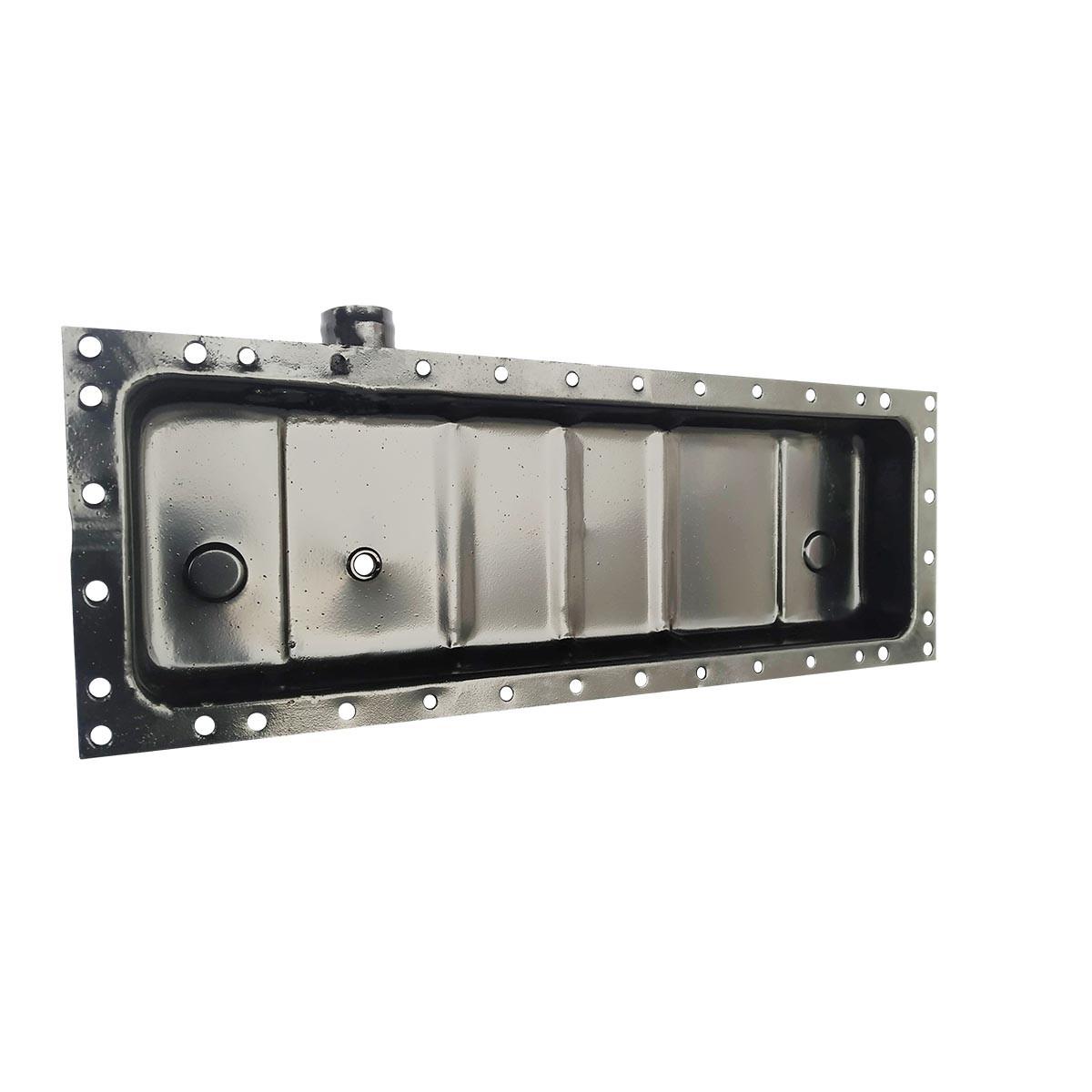 Бак радіатора нижній метал 36-1301070 (JFD)