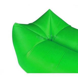 Надувний матрац Ламзак Air Sofa Chair 1,5 м, Зелений