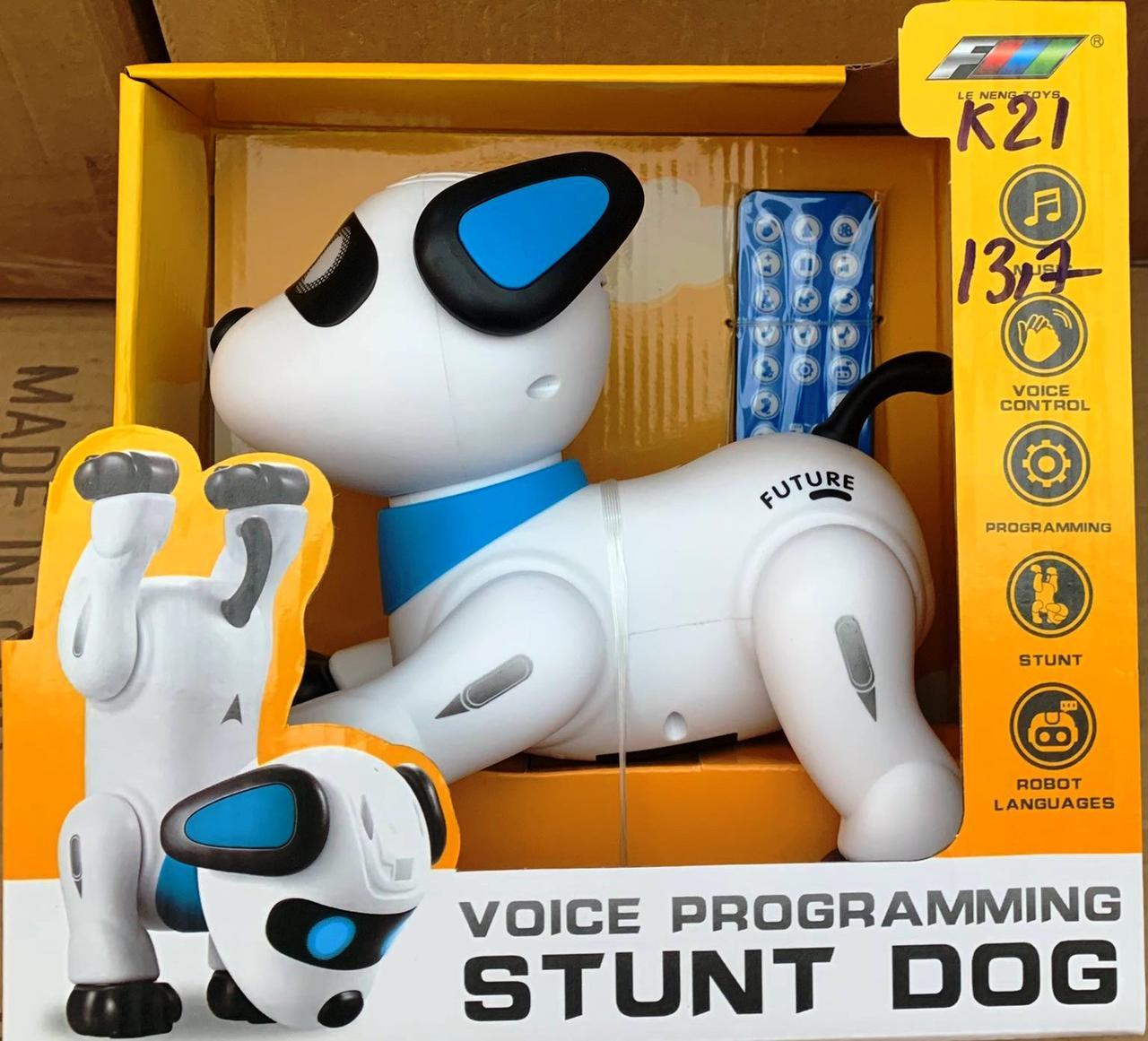 Робот собака на радиоуправлении Stunt Dog К 21