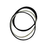 Набор колец уплотнительных гильзы ЯМЗ-236,238 (3 шт в п/к ) (КМЗ)