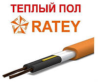 Ratey TIS 0,19 кВт двужильный нагревательный кабель