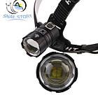 Налобный фонарь T6004 светодиод XHP70, фото 2