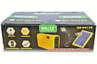 Аккумулятор фонарь от солнечной батареи GD-8017А, фото 6