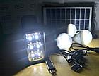 Аккумулятор фонарь от солнечной батареи GD-8017А, фото 8
