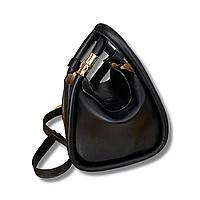 Женская черная сумка, классическая сумка, сумка из эко-кожи тренд 2021  CC-3720-10