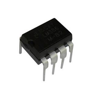 Чіп LM386N LM386 DIP8, Низьковольтний аудіопідсилювач