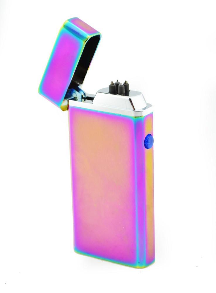 Зажигалка электрическая microUSB Jinlun 612 2 импульсных дуги