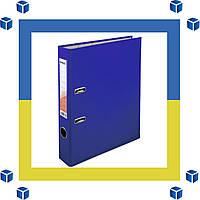 Папка - регистратор (сегрегатор) А4/50 Delta (синяя-односторонняя)