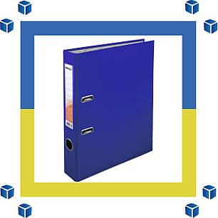 Папка - регистратор (сегрегатор) А4/50 Delta (синяя-односторонняя), фото 2