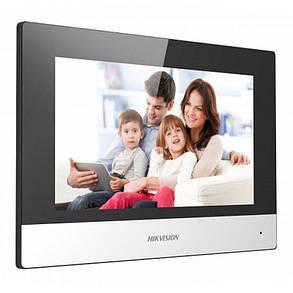 "Відеодомофон Hikvision DS-KH6320-TE1 7"" IP, фото 2"