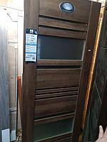 Міжкімнатні двері НОВИЙ СТИЛЬ зі склом Ніцца