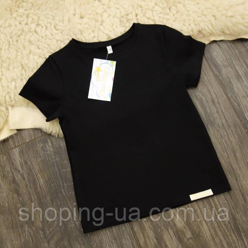 Дитяча футболка чорна Five Stars KD0460-104р