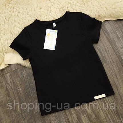 Дитяча футболка чорна Five Stars KD0460-104р, фото 2