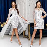"""Весільна сукня-трансформер 2в1, плаття на розпис, вінчання, випускний """"Imperia new"""""""", фото 1"""