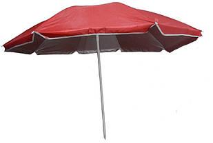 Зонт пляжний d1.8м Stenson MH-2686, червоний