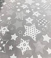Бязь білоруська Великі зірки 100% х/б 220 см