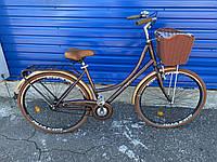 Велосипед 28'' Ardis Verona коричневый (Ардис верона ) городской(прогулочный) велосипед с корзиной
