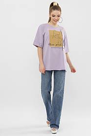 Женская стильная футболка  Цвет: белый  Размеры S M L