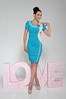 Платье Оникс Лето (голубой)
