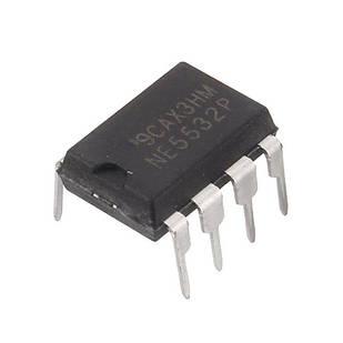 Чіп NE5532P NE5532 DIP8, Операційний підсилювач 2-канальний