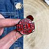 Металлический значок на рюкзак или одежду HELL, фото 2