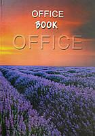 Книга обліку в твердій обкладинці А4, 96 арк, офсет, клітинка., фото 1