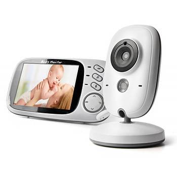 Видеоняня с большим цветным 3.2 дисплеем и дистанционным управлением JETIX VB603