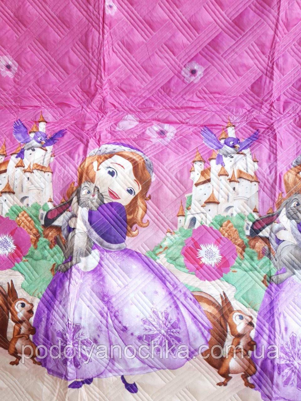 Дитяче покривало - ковдра з наволочкою