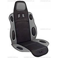 Накидки на сидения автомобильные  Vitol Н19002 GY\BK
