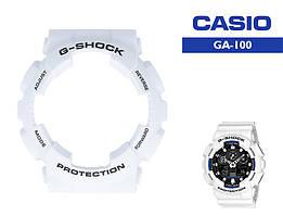 Безель Casio G-Shock GA-100 White Original