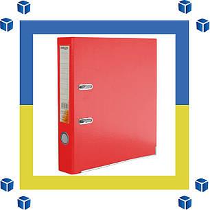 Папка - регистратор (сегрегатор) А4/50 Delta (красная-односторонняя), фото 2