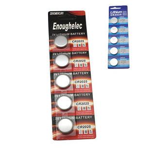 5x Батарейка таблетка CR2025 5003LC DL2025, літій