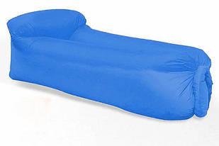 Надувний матрац Ламзак AIR sofa Chair 5693, блакитний