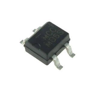 Чіп MB6S SOP4, Діодний міст SMD 0.5 A 600В