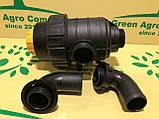 Фільтр обприскувача всмоктуючий з запірним клапаном великий (коліно 50 мм) Фільтр на ОП-2000, фото 2