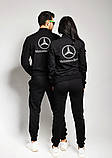 Жіночий костюм спортивний Mercedes-Benz можна купити і чоловічий костюм, фото 4