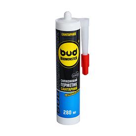 Силикон BudMonster санитарный, 280 мл прозрачный BudMonster