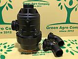 Фільтр обприскувача всмоктуючий з запірним клапаном великий (коліно 50 мм) Фільтр на ОП-2000, фото 5
