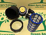 Фільтр обприскувача всмоктуючий з запірним клапаном великий (коліно 50 мм) Фільтр на ОП-2000, фото 10