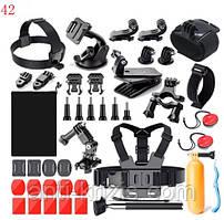 Набор креплений для экшн камер 21 предмет