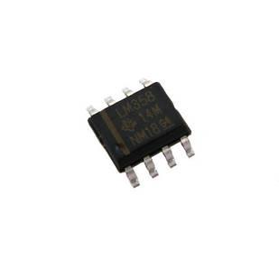 Чіп LM358DR LM358 SOP8, Операційний підсилювач 2-канальний
